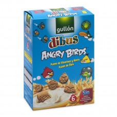 Детское печенье Gullon Dibus Mini Angry Birds 250 г  ТМ: Gullon