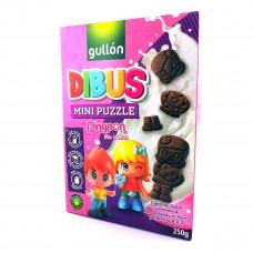 Детское печенье Gullon Dibus Mini puzzle Без лактозы 250 г  ТМ: Gullon