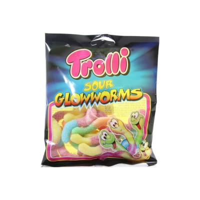 Конфеты жевательные Кислые Светлячки Тролли 100 г  ТМ: Trolli