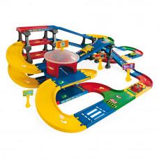 Игровой набор Паркинг с трассой Wader (53070)