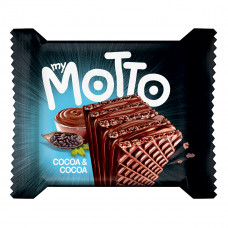 Вафли Italfood MyMotto Двойное какао 34 г  ТМ: Italfood