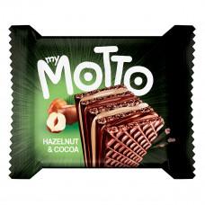 Вафли Italfood MyMotto Орех и какао 34 г  ТМ: Italfood