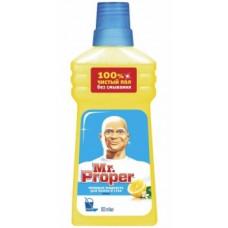 Моющая жидкость для полов и стен Mr. Proper Лимон, 500 мл