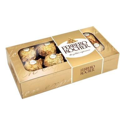 Конфеты Ferrero Rocher 100 г Т8*8 ТМ: Ferrero Rocher