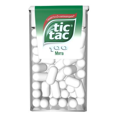 Драже Tic Tac Мята, 49 г T100x24 ТМ: TicTac