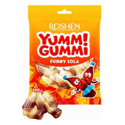 Желейные конфеты Roshen Yummi Gummi Funny Cola 100 г 9100000320 ТМ: ROSHEN