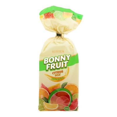 Желейные конфеты Roshen Bonny-Fruit цитрусовый микс 200 г 9100000319 ТМ: ROSHEN