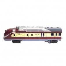 Игровой набор Fenfa Паровоз с вагоном с эффектами (1601B-5B)