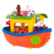 Игровой набор Kiddieland Ноев ковчег на колесах на украинском (031881)