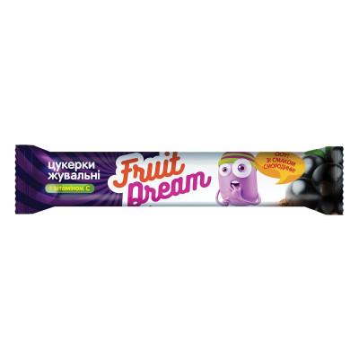 Конфеты жевательные Fruit Dream с соком смородины 15 г 201 ТМ: Fruit Dream