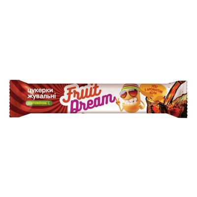 Конфеты жевательные Fruit Dream с ароматом Колы 15 г 201 ТМ: Fruit Dream