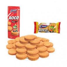 Печенье Croco Roco с кремово-шоколадной начинкой, 150 г  ТМ: Croco