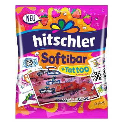 Жевательные конфеты Hitschies Softibar с татту 75 г  ТМ: Hitschies