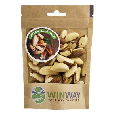 Бразильский орех жареный Winway 100 г  ТМ: Winway
