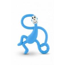 Игрушка-прорезыватель Matchstick Monkey Танцующая Обезьянка, светло-голубой (MM-DMT-007)
