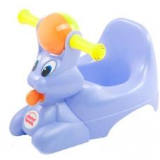 Музыкальный горшок OK Baby Spidy, голубой (37825535)