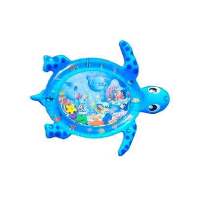 Игровой коврик Lindo Черепаха, с водой, синий (F 2011)