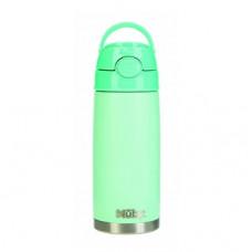 Термос-поильник Nuby, с трубочкой, 420 мл, зеленый (NV0414027aqua)