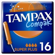Тампоны Tampax Compak Super Plus Duo, 16 шт.