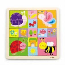 Пазл Viga Toys Насекомые, 25 элементов (50150)