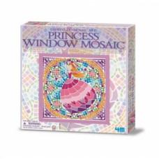 Набор для творчества 4M Мозаика на окно Принцесса (00-04565)