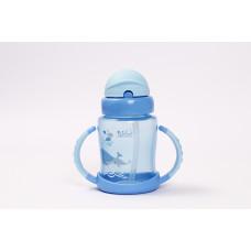 Чашка-непроливайка Lindo Premium с трубочкой 240 мл (в асорт) А40 ТМ: Lindo