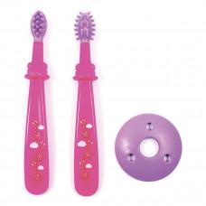 Щетки для зубов и десен Lindo 2 шт (в ассорт) Pk 072 ТМ: Lindo
