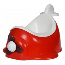 Детский горшок Qcbaby Airplane Red QC9905red ТМ: Qcbaby