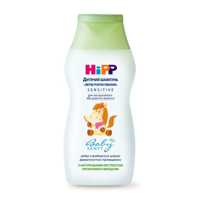 Детский шампунь HIPP BabySanft Легкое расчесывание 200 мл 9561 ТМ: HIPP BabySanft
