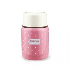 Термос для пищевых продуктов Fissman розовый, 350 мл VA-9666.350 ТМ: Fissman