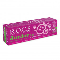 Зубная паста R.O.C.S. Junior Ягодный микс, 74 г 18996 ТМ: R.O.C.S.