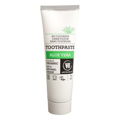 Органическая зубная паста Urtekram Алое, 75 мл 15555 ТМ: Urtekram
