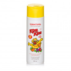 Шампунь детский Кря-Кря с витамином F 200 мл  ТМ: Кря-Кря
