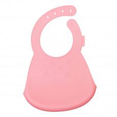 Силиконовый нагрудник KinderenOK Pink 300520 ТМ: KinderenOK