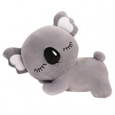 Мягкая игрушка - подушка Сумчатый медвежонок, серый, 60см