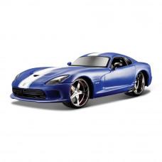 Автомодель Maisto SRT Viper GTS (31363 met. blue)