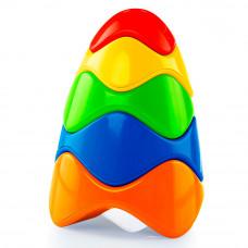 Развивающая игрушка Красочная пирамидка Bright Starts (81106)