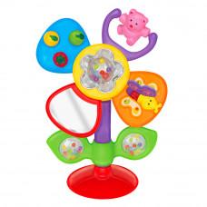 Развивающая игрушка Kiddieland Цветочек на присоске на русском (051185)