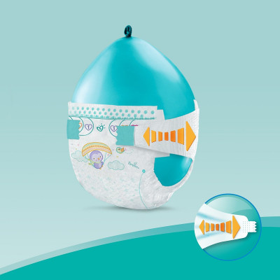 Подгузники Pampers New Baby Размер 2 Mini 4-8 кг 94 шт  ТМ: Pampers