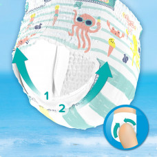Трусики для плавания Pampers Splashers Размер 3-4 (6-11 кг) 12 шт 81666974 ТМ: Pampers
