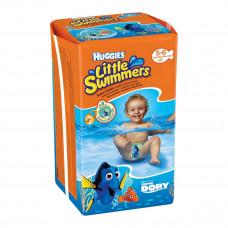 Подгузники-трусики Huggies Little Swimmers Small Размер 5-6 (12-18 кг), 11 шт 2961161 ТМ: Huggies
