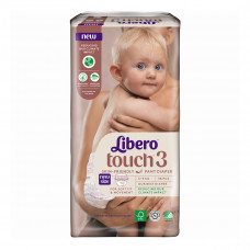 Подгузники-трусики Libero Touch Pants 3, 5-9 кг 38 шт 8382 ТМ: Libero
