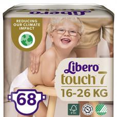 Подгузники Libero Touch 7, 16-26 кг 2х34 шт 8649 ТМ: Libero