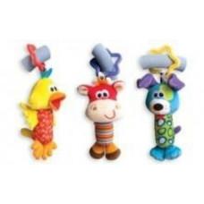 Погремушки Playgro Мои первые друзья, (коровка, собака и птичка )