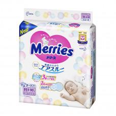 Подгузники Merries Размер NB (0-5 кг), 90 шт 230782 мер-1 ТМ: Merries