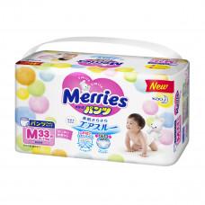 Трусики-подгузники Merries M 6-11 кг 33 шт 584752 ТМ: Merries