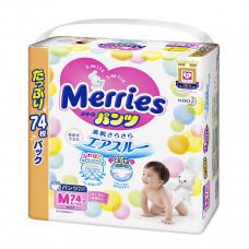 Трусики-подгузники Merries Ultra Jumbo M 6-11 кг 74 шт 558866 ТМ: Merries