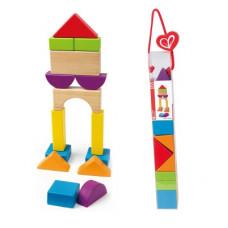 Набор кубиков Hape Город 15 элементов (E0904)