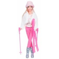 Набор с куклой Ася Зимняя красавица, блондинка, 28 см (35129)