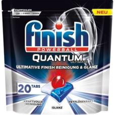 Таблетки для посудомоечных машин Finish Quantum Ultimate, 20 шт.